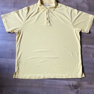 Tommy Bahama yellow polo !🔥